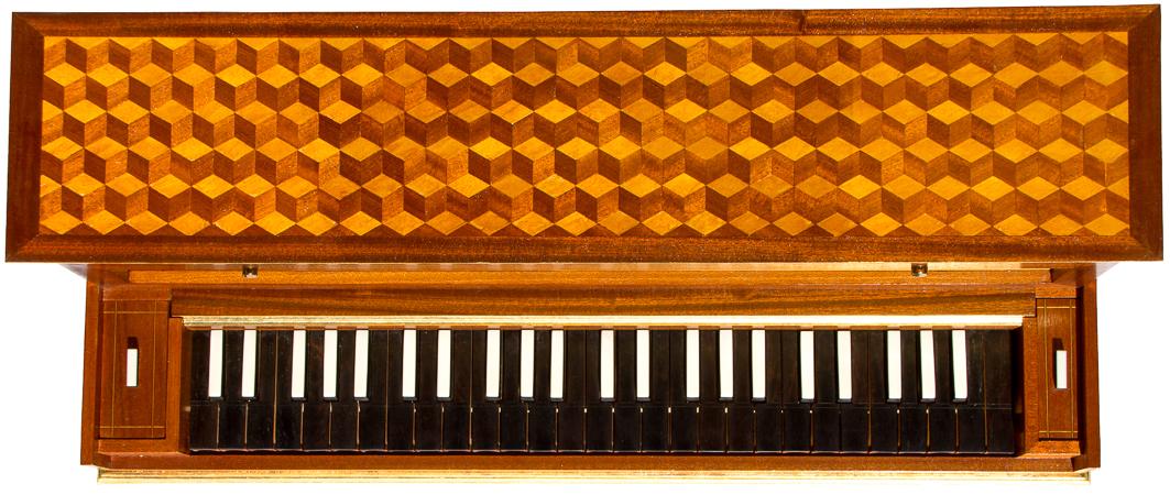 Tidiga klaver 1700
