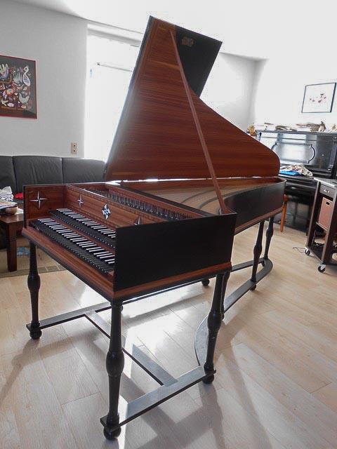 German harpsichord for sale/to rent – Matthias Kramer